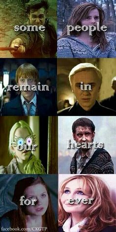 I like how the last picture is J. K. Rowling