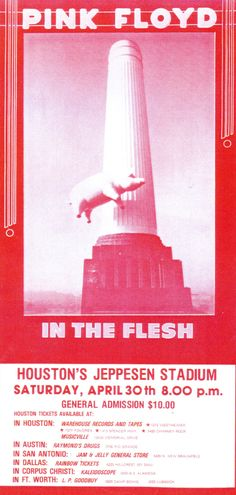 Pink Floyd Animals tour 1977