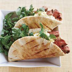 Steak-and-Egg Salad Sandwiches