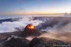 Éruption du Piton de la Fournaise - Février 2015