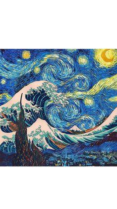 Pinterest: Kblyigit Van Gogh Wallpaper, Wallpaper Backgrounds, Wallpaper Desktop, Girl Wallpaper, Cartoon Wallpaper, Disney Wallpaper, Wallpaper Quotes, Aesthetic Pastel Wallpaper, Aesthetic Wallpapers