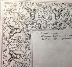 Arabic Pattern, Pattern Art, Illumination Art, Arabesque Pattern, Persian Motifs, Islamic Patterns, Dot Art Painting, Turkish Art, Islamic Art Calligraphy