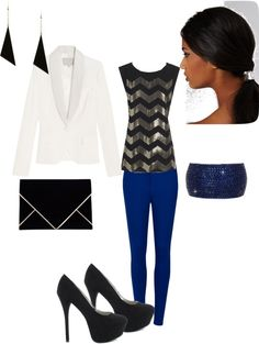 """chevron top"" by medboocd on Polyvore"