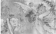 ru / Фото - MD 28 Crystal Christmas - f-morgan Cross Stitch Angels, Le Point, Needlework, Crystals, Christmas, Gallery, Cross Stitch, Dots, Patrones