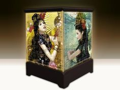 3D Jigsaw Lantern - Dancing Girls 192 piece 3D jigsaw puzzle which looks stunning as a working display Snug interlocking allows the puzzle to be displayed without glue. The lantern stands on its own, it does not fall apart when picked up. The pieces are made of durable, waterproof plastic. Size: 90mm x 90mm x 130mm Requires 3 AAA batteries.