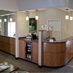 front desk can refill coffee
