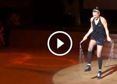 Ugrókötél világbajnok Bánhegyi Adrienn koreográfiája!