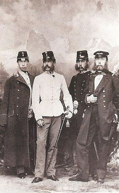 Franz Joseph & his brothers
