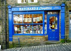 Hatchard & Daughters bookshop in Haworth, West Yorkshire by Paul Anthony Moore, via Flickr