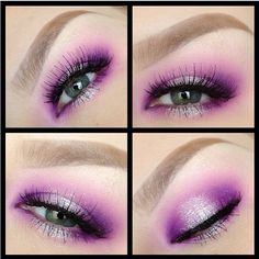 Another breathtaking look by Cheeksmakeup using #Sugarpill Poison Plum and Dollipop eyeshadows. So soft and fairylike!