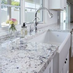Style your kitchen with Alaska white granite