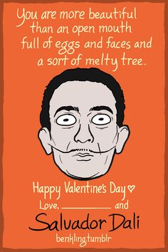 Valentine's Day Cards Full Of Geeky Puns From Writers, Artists - DesignTAXI.com