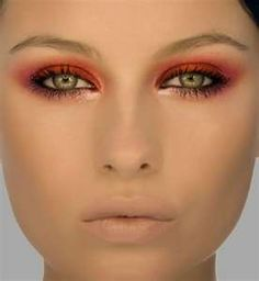 Bright eye shadow is what's hot in 2011
