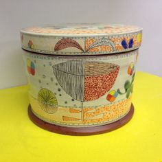 Earthenware Cookie Jar by redware on Etsy, $180.00