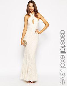 Jarlo Tall - Priscilla - Maxi robe portefeuille chez ASOS mode femme fashion
