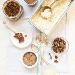 Cinnamon Ice Cream and A Deconstructed Apple Pie | @Susan Salzman | www.theurbanbaker.com