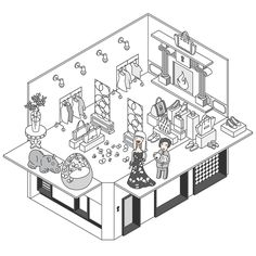 Club Designer | Website Illustration on Behance