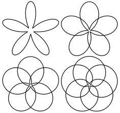 black flower png | Polar Equation Flowers Black White Line Art Tattoo Tatoo Flowers ...