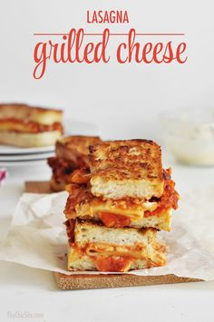 Venture out and try something new! Add your leftover pasta to some grilled cheese for a new twist. #recipe