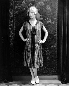 Dorothy Mackaill #flapper #dress