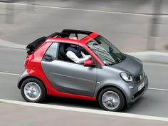 Essai Smart Fortwo Cabriolet 1.0 71 BVA Passion 2016 Smart Fortwo, Passion 2016, Personal Jet, Bush Plane, Car Camper, Cabriolet, City Car, Smart Car, Garage Workshop