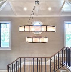 Photo courtesy of Rebecca Brown Entryway Chandelier, Ring Chandelier, Hotel Foyer, Function Room, Luxury Living, Hanging Lights, Dining Room Table, Great Rooms, Interior Styling