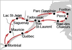 Consultez ces idées d'itinéraire au Canada, au Québec et aux États-Unis. Circuit aux USA et dans l'est du Canada de 1, 2 ou 3 semaines tout compris (avec ou sans vol) en formule pas cher ou de luxe selon Michelin. Itinéraires sur mesure en famille ou en couple tout inclus de 8, 12, 15 et 21 jours de juin à septembre en voiture ou camping-car.