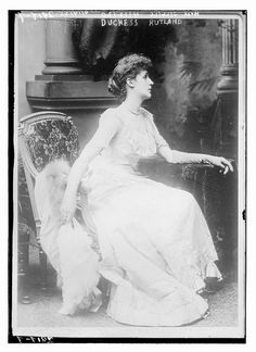 Violet Manners, Duchess of Rutland.