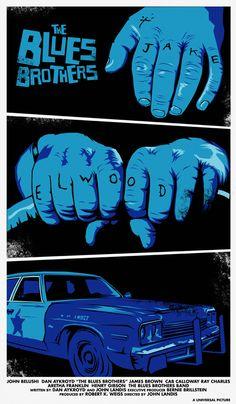 The Blues Brothers by Dan Sherratt                                                                                                                                                                                 Mais