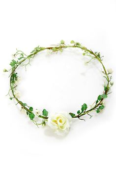 Pretty Flower Crown - Floral Crown - Flower Headband - $19.00