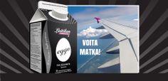 Voita 1000 € matkalahjakortti. Convenience Store, Packing, Convinience Store, Bag Packaging