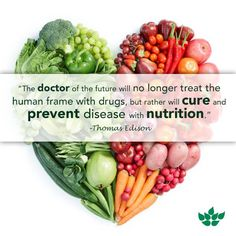 Prevent disease with nutrition.
