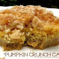 Tammy's crunchy pumpkin cake
