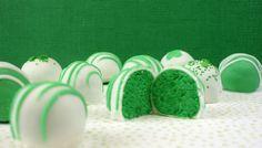 St. Patrick's Cake Bites