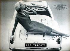 Jardin des Modes March 1958. Photos Marc Hispard