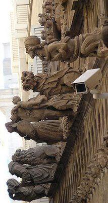 gargolas de Barcelona -Tour de les gàrgoles de Barcelona als carrers