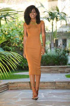 Satin Lapel Blazer + Fitted Midi Dress                                                                                                                                                                                 More