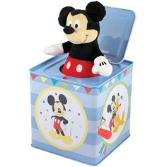 jack-in-the-box toy | ... Mouse Clubhouse Theme Jack IN THE BOX Classic TIN Wind UP TOY | eBay