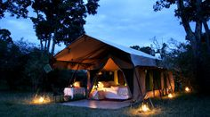 Luxury Camping Tents For more great camping info go to http://CampDotCom.Com #camping #campinghacks #campingfun