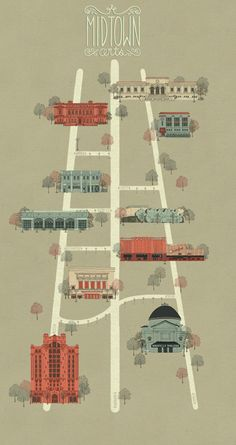 Meredith Miotke  (note do something like this but with landmark buildings from around town)