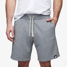 Essential Short inHeather Grey $44.00