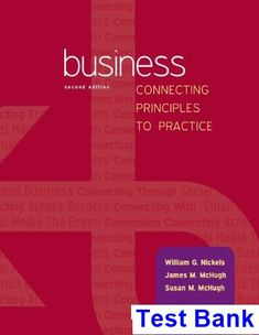 Download ebook pdf free httpaazeabookprinciples of test bank for business business connecting principles to practice 2nd edition by nickels fandeluxe Choice Image