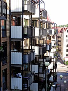 Balconies in Sweden by SKYTOM