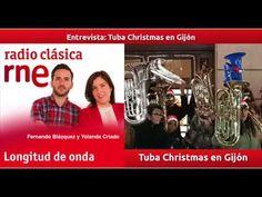 Entrevista en Longitud de Onda de Radio Clásica: Tuba Christmas en Gijón