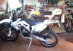 #Ktm Gs350 and #HM CRE 50 Baja RR