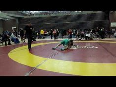 2016 Dino Invitational 51 kg Angele Lalonde vs Amber Wiebe