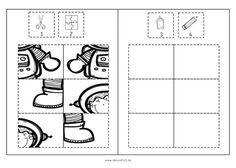 Raumfahrt-Puzzles in 3 Schwierigkeitsstufen Sistema Solar, Preschool Worksheets, Preschool Activities, Visual Perception Activities, Toddler Learning, First Grade, Puzzles, Teaching, Math
