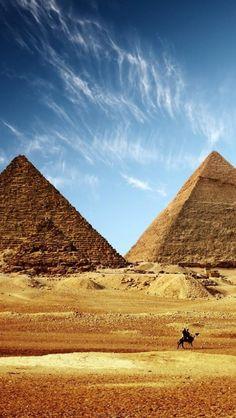 The Pyramids of Gizah, Cairo, Egypt