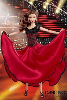 2012 Barbie Dancing with the Stars Paso Doble Barbie® | Dancing with the Stars Collection *POP CULTURE