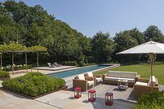 Privatgarten mit Pool
